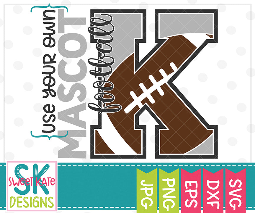 Your Own Mascot K Bundle SVG DXF EPS PNG JPG - Sweet Kate Designs