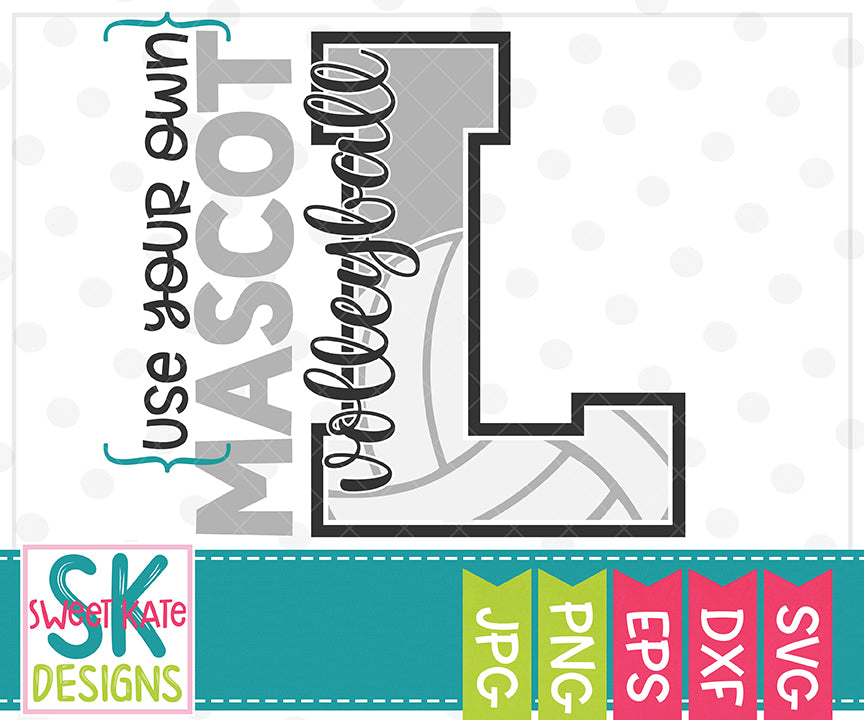 Your Own Mascot L Bundle SVG DXF EPS PNG JPG - Sweet Kate Designs