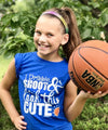 Golly Girls: Dribble Shoot & Look This Cute T-Shirt