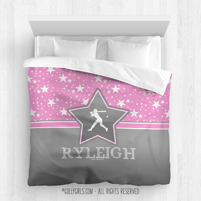 Golly Girls: Among the Stars Softball Comforter