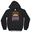 Golly Girls: Basketball Princess Black Hoodie (Youth & Adult Sizes)