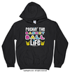 Golly Girls: Rockin' the Basketball Life Black Hoodie (Youth & Adult Sizes)