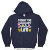 Golly Girls: Rockin' the Basketball Life Navy Hoodie (Youth & Adult Sizes)