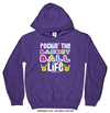 Golly Girls: Rockin' the Basketball Life Purple Hoodie (Youth & Adult Sizes)