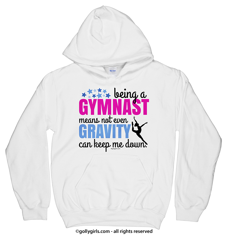 Being A Gymnast Hoodie (Youth-Adult) - Golly Girls 0536e9ef7