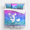 Golly Girls: Forever Love Cheer Personalized Comforter Or Set