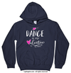 Golly Girls: Dance is My Valentine Navy Hoodie (Youth & Adult Sizes)