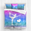 Golly Girls: Forever Love Figure Skating Personalized Comforter Or Set