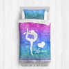 Golly Girls: Forever Love Gymnastics Personalized Comforter Or Set