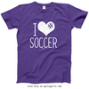 Golly Girls: I Hashtag Heart Soccer T-Shirt (Youth & Adult Sizes)