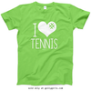 Golly Girls: I Hashtag Heart Tennis T-Shirt (Youth-Adult)