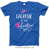 Golly Girls: Lacrosse is My Valentine T-Shirt (Youth-Adult)