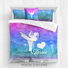 Golly Girls: Forever Love Martial Arts Personalized Comforter Or Set