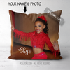 Golly Girls: Your Photo Personalized Throw Pillow