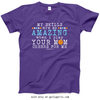 Golly Girls: Your Mom Cheers For Me Basketball T-Shirt (Youth-Adult)