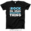 Golly Girls: I Rock The Whole Basketball Thing T-Shirt (Youth-Adult)