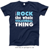 Golly Girls: I Rock The Whole Volleyball Thing T-Shirt (Youth-Adult)