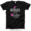 Golly Girls: Softball is My Valentine T-Shirt (Youth-Adult)