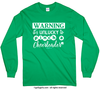 Golly Girls: Unlucky to Pinch a Cheerleader Long Sleeve T-Shirt (Youth-Adult)