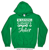 Golly Girls: Unlucky to Pinch a Skater Hoodie (Youth-Adult)