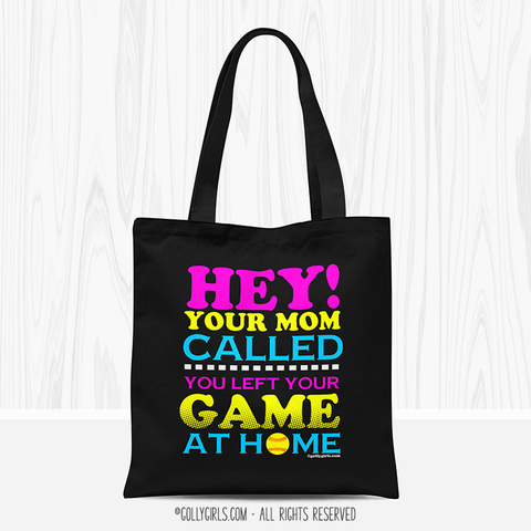 Golly Girls: Your Mom Called Funny Softball Tote Bag