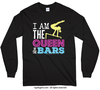 I Am the Queen of the Bars Long Sleeve T-Shirt (Youth-Adult) - Golly Girls