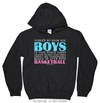 Golly Girls: No Room For Boys Basketball Black Hoodie (Youth-Adult)