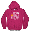 Golly Girls: Pumpkin Spice Basketball Heliconia Hoodie (Youth & Adult Sizes)
