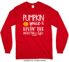Golly Girls: Pumpkin Spice Basketball Long Sleeve T-Shirt (Youth-Adult)