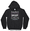 Basketball is My Favorite Season Hoodie (Youth-Adult) - Golly Girls