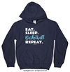 Eat Sleep Basketball Hoodie (Youth-Adult) - Golly Girls