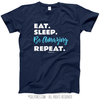 Eat Sleep Be Amazing T-Shirt (Youth-Adult) - Golly Girls