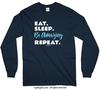 Eat Sleep Be Amazing Long Sleeve T-Shirt (Youth-Adult)