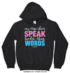 Golly Girls: My Tap Shoes Speak Black Hoodie (Youth & Adult Sizes)