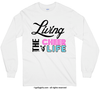 Living The Cheer Life Long Sleeve T-Shirt (Youth-Adult) - Golly Girls