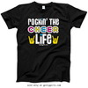 Golly Girls: Rockin' the Cheer Life Black T-Shirt (Youth & Adult Sizes)