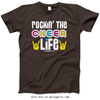 Golly Girls: Rockin' the Cheer Life Dark Chocolate T-Shirt (Youth & Adult Sizes)