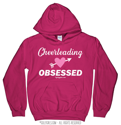 Golly Girls: Cheerleading Obsessed Hoodie (Youth-Adult)