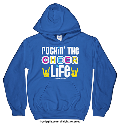 Golly Girls: Rockin' the Cheer Life Hoodie (Youth-Adult)