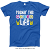 Golly Girls: Rockin' the Cheer Life Royal T-Shirt (Youth & Adult Sizes)
