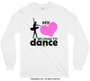 My Heart Belongs to Dance Long Sleeve T-Shirt (Youth-Adult) - Golly Girls