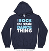 Golly Girls: I Rock The Whole Dance Thing Navy Hoodie (Youth-Adult)