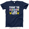 Golly Girls: Rockin' The Dance Life Navy T-Shirt (Youth & Adult Sizes)