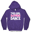 Golly Girls: This Girl Loves Dance Purple Hoodie (Youth & Adult Sizes)