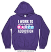 Golly Girls: Work to Support Daughter's Dance Purple Hoodie