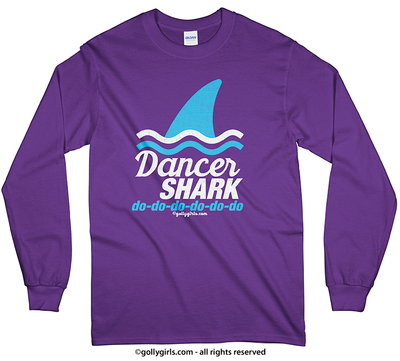Golly Girls: Dancer Shark Long Sleeve T-Shirt (Youth-Adult)
