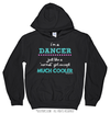 Golly Girls: I'm a Dancer... Much Cooler Black Hoodie (Youth-Adult)