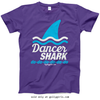 Golly Girls: Dancer Shark T-Shirt (Youth & Adult Sizes)