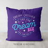 Dream Catcher Dream It Do It Purple Throw Pillow - Golly Girls