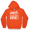 Golly Girls: Dribble Shoot Look Cute Basketball Orange Hoodie (Youth & Adult Sizes)